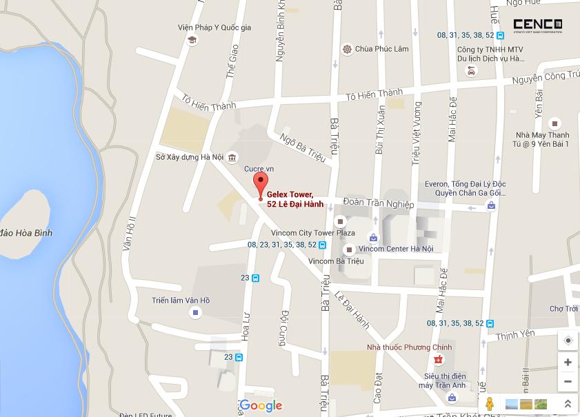 Map Gelex