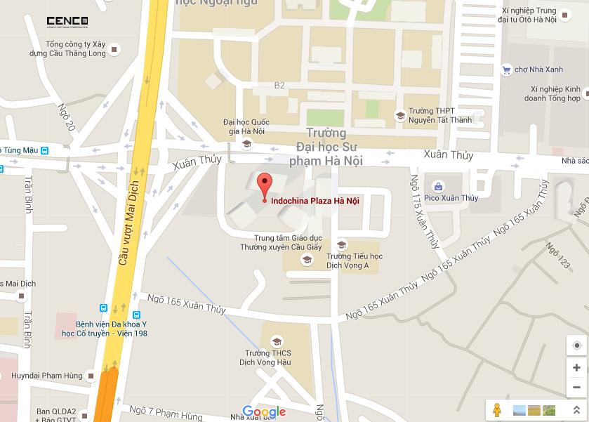 Cao ốc Indochina Plaza Hanoi