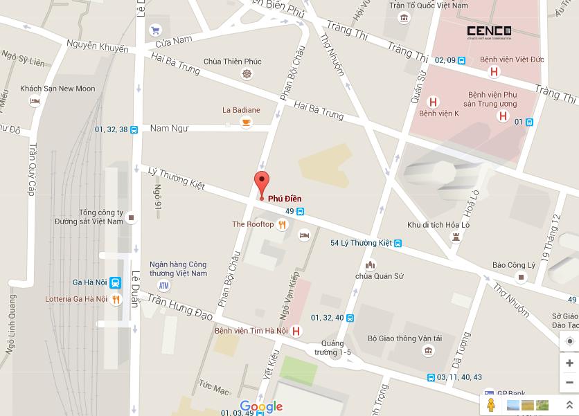 Map Phu Dien