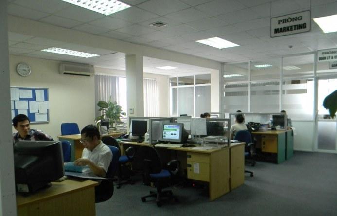 Không gian văn phòng Tòa 3A